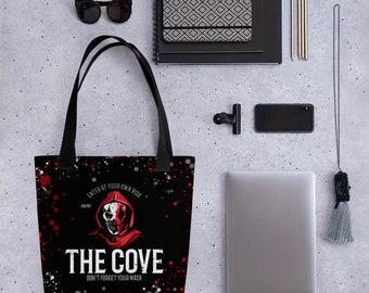 Penelope Douglas's Devil's Night Inspired Cove Tote bag