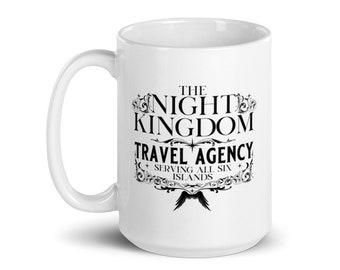 Laura Thalassa's NIght Kingdom Travel - Mug
