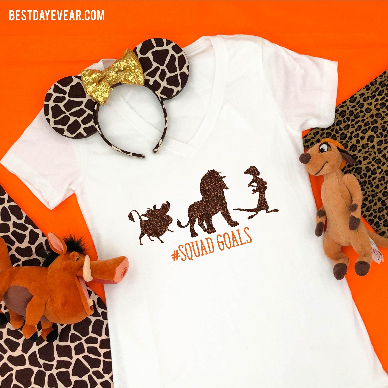 Lion king squad goals tshirt market bag