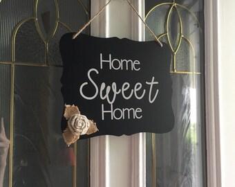 Door sign| home sweet home