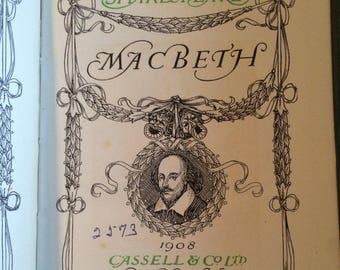 macbeth by shakespeare 1908