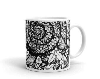 Garden & Butterfly Coffee Lovers Mug
