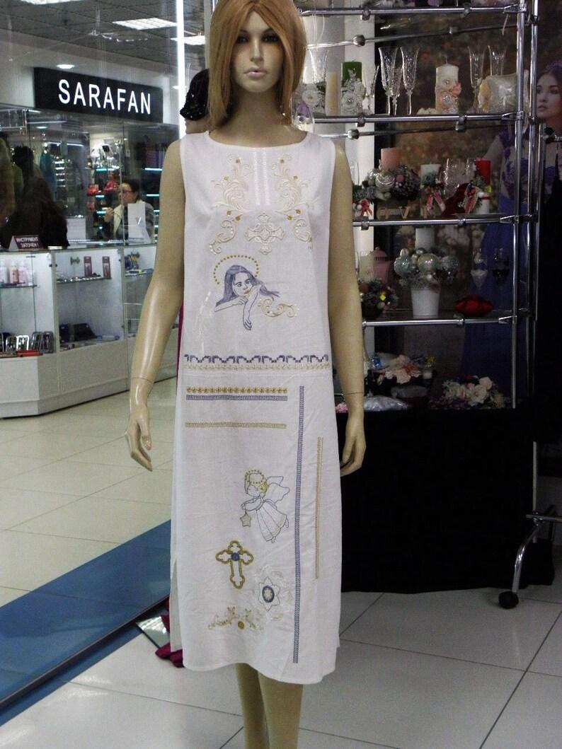 f36c1d23d9 Sukienka Moks31p naturalne tkaniny lniane boho stylu anioła