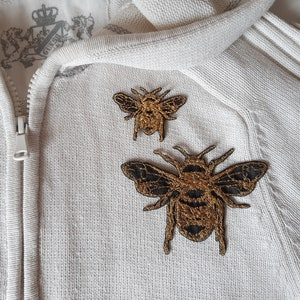 bee embroidery patch p Moks420