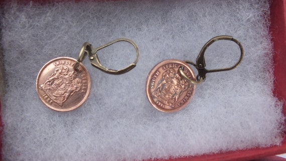 Münzen Cooperative Penny Münze Südafrika
