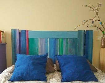 Painted wood headboards
