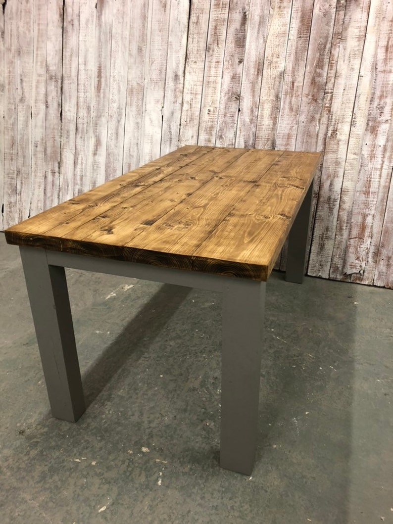 Farrow and ball painted dining tables