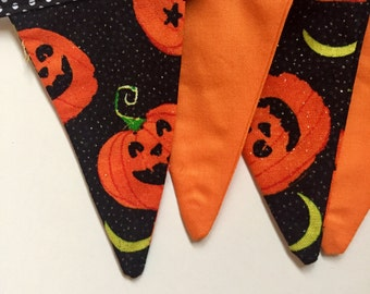 Halloween pumpkin bunting, party, gift, home decor