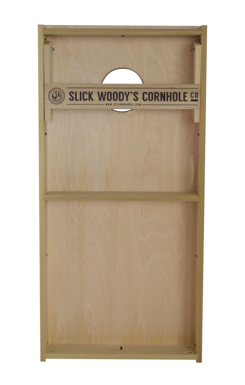 Bean bag toss Slick Woodys Charlotte Basketball Cornhole set Baggo Custom Cornhole boards Wedding cornhole boards