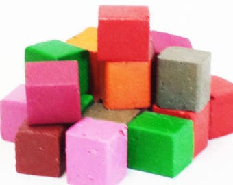 5 lb Assorted Colors Beeswax Blocks - for Candlemaking, Crafts and Encaustic Painting