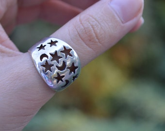 Dream ring,silver ring,