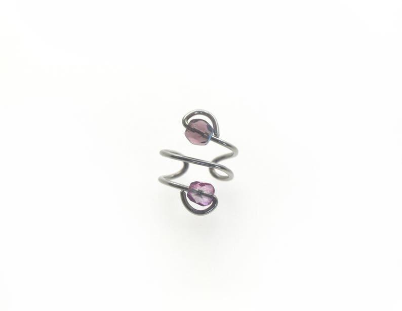 Ear Cuff  Purple image 0