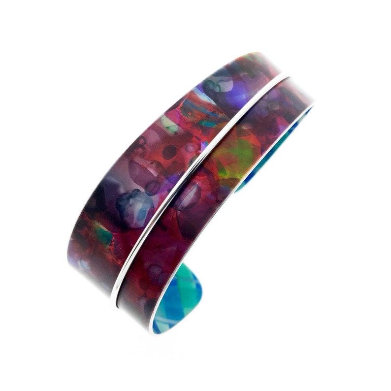 Aluminum bracelet light weight unique original and image 0
