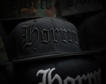 HORROR - Black/Black - Hat