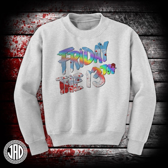 Friday Death Rainbow - Men's (unisex) Crewneck - Pink or Grey
