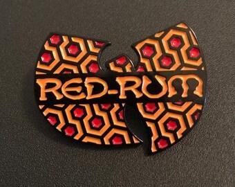 RED-RUM Room Wu37 - Enamel Pin