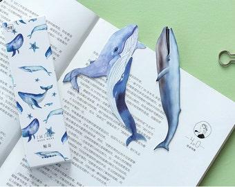 30 pièces baleine Cut Out - signets/cadeaux Tags/Scrapbooking fournitures