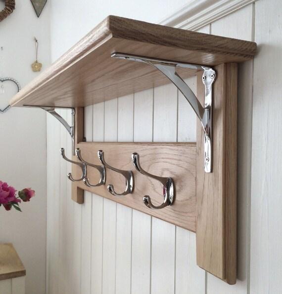 Vintage Style Oak Coat Rack With Shelf </div>                                   </div> </div>       </div>         <div style=