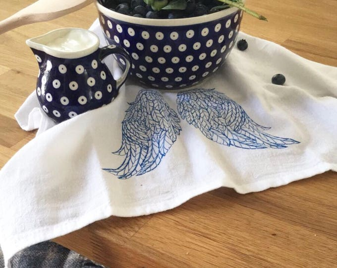 Angel's Wings - Kitchen And Dining Cloth Napkins - Set of 4