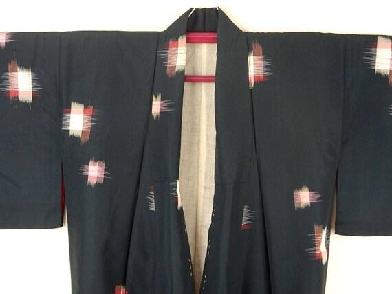 1920s-1930s Vintage Silk Japanese Kimono / Pink, … - image 3