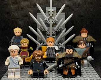 Iron Throne - custom made LEGO® set from new and used parts. Limited edition. Throne & minifigure(s) also now available.