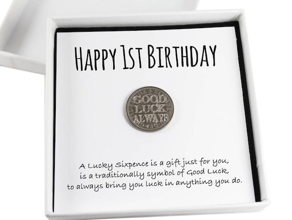 Happy 1st Birthday Lucky Sixpence
