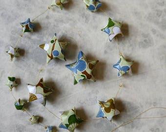 Joseph - Origami star Garland