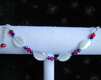 Red, White and Blue Bracelet #7