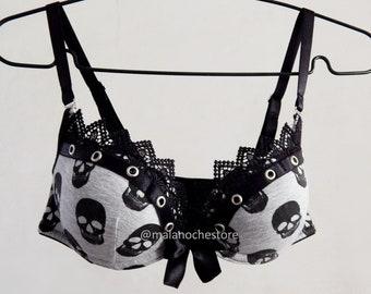 a1b7af9d73fe3 Skull lingerie