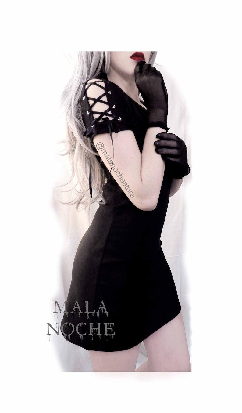 ca761106f82841 Dress Mini Black gothic dress sexy dress mini dress goth