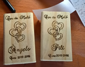 Pen wood custom for pyrography