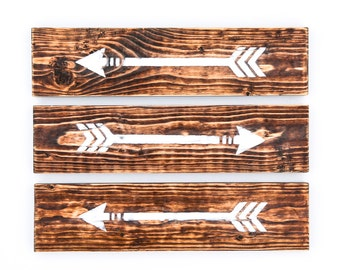 Rustic Home Decor, Wood Wall Art, Rustic Wall Decor, Wood Home Decor, Wood Arrow Decor, Wall Decor, Wood Decor, Rustic Decor, Wooden Arrow
