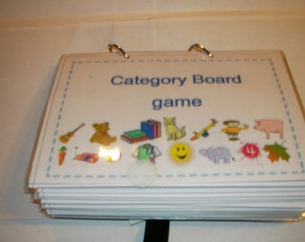 30 Category Boards with 90 pecs sorting cards