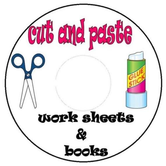 Schneiden Sie aus und fügen Sie der Arbeitsblätter auf cd 600 | Etsy