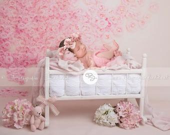 Alvi stubenwagen birthe weiß prinzesinnenschloss rosa