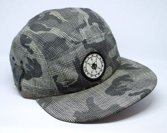 Urban Grey Camo 5-panel hat
