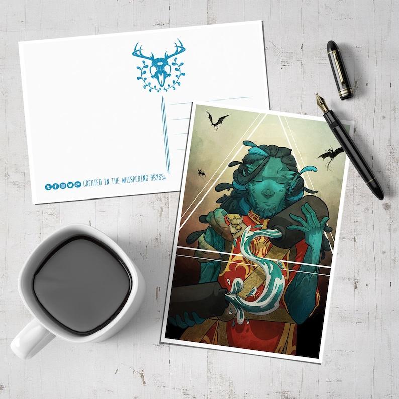 Guild Wars 2: Temperance - Postcard (SALE)