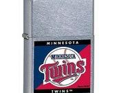 Sweet Retired MLB Minnesota Twins Zippo Lighter