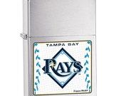 Cool Retired MLB Tampa Bay Devil Rays Zippo Lighter