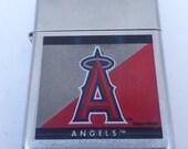 Rare Retired 2005 Anaheim Angels MLB Zippo Lighter