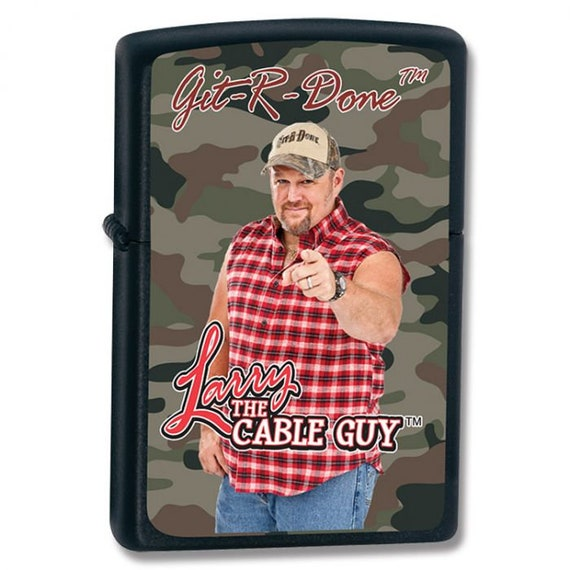 Larry The Cable Guy Zippo Lighter