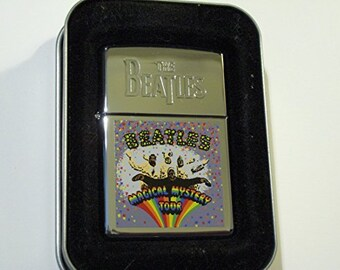 Rare Beatles Magical Mystery Tour Zippo Lighter