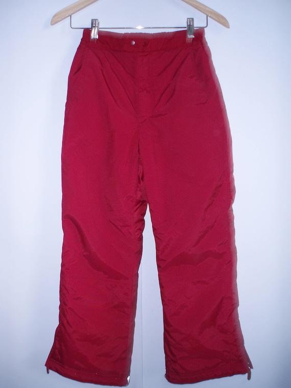 Men's Ski Suit Pants Winter Hipster Pants Warm Win
