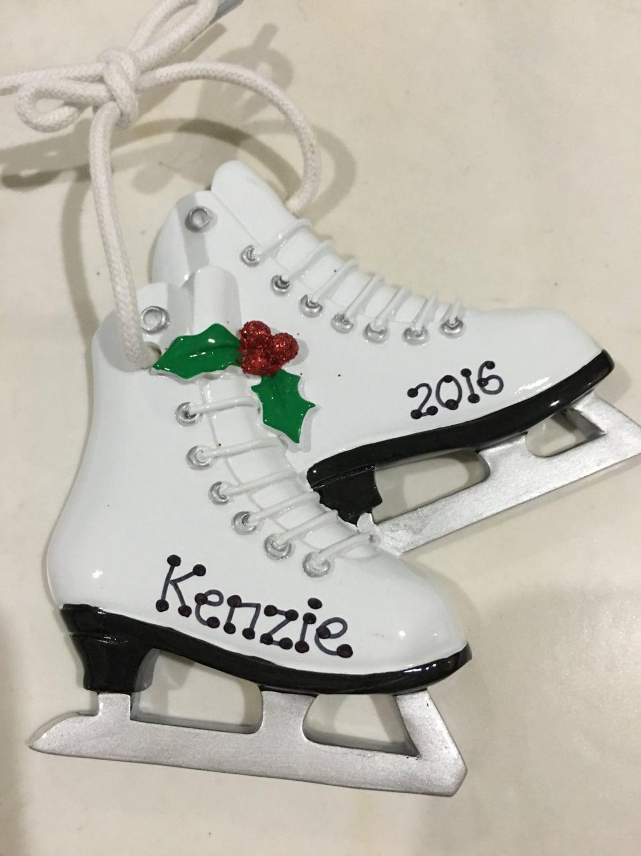 33% Off Figure Skates Winter SportsPersonalized Christmas | Etsy