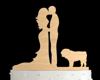 English bulldog,dog wedding cake topper,english bulldog wedding,english bulldog wedding cake topper,bulldog,dog cake topper,cake topper,671