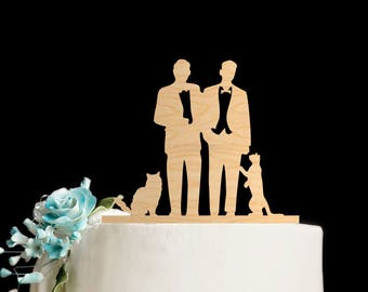 Gay cake topper,Gay wedding topper,gay wedding cake topper,cat wedding cake topper,Gay Wedding,cake toppers for wedding,cat cake topper,599