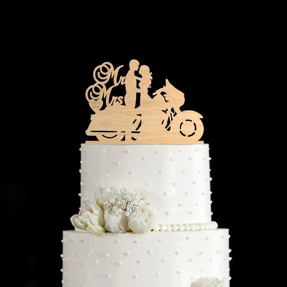 Biker Hochzeitstorte Fahrrad Kuchen Deckel Etsy
