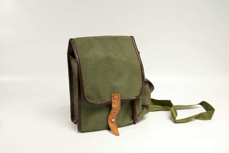 Small army bag canvas bag military bag Polish army small  a810776608501
