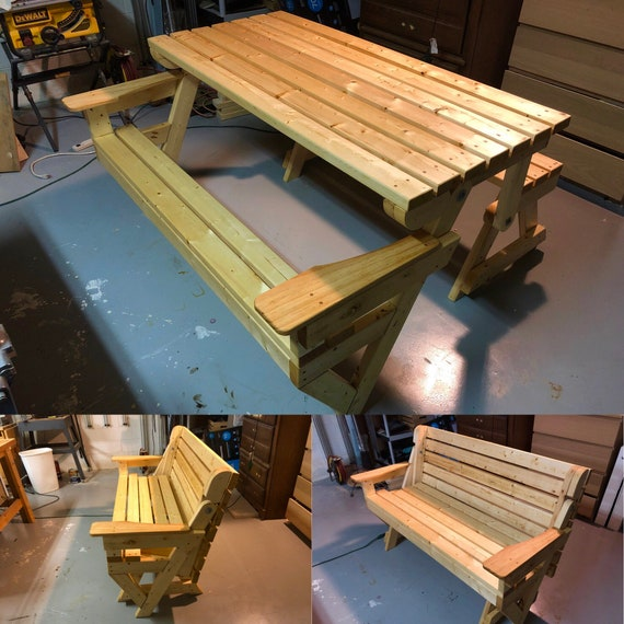 Astonishing Convertible Picnic Table Park Bench Pdpeps Interior Chair Design Pdpepsorg