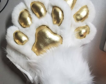 CANINE Fursuit Paws